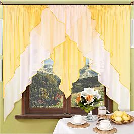 шторы Шторы для кухни Нивасан Шторы Мираж, золотой