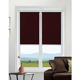 Шторы рулонные Идея Рулонная штора mini Satin, бордовый, 120 см цена