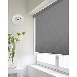Фото - Шторы рулонные ролло Идея Рулонная штора ролло lux Etamin веточка, серый, 160 см etamin