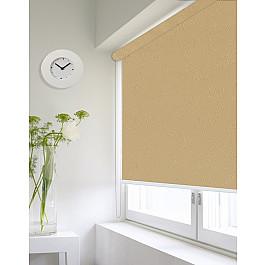 Фото - Шторы рулонные ролло Идея Рулонная штора ролло lux Etamin веточка, темно-бежевый, 60 см-A etamin