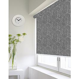 Фото - Шторы рулонные ролло Идея Рулонная штора ролло lux Etamin цветы, темно-серый, 120 см etamin