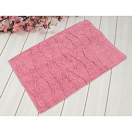 Коврик для ванной JASMINE Pembe, розовый, 50x80 см