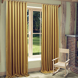 Шторы для комнаты Sanpa Шторы Джоди, золотистый, 200*270 см шторы sanpa sanpa mp002xu0dxb2