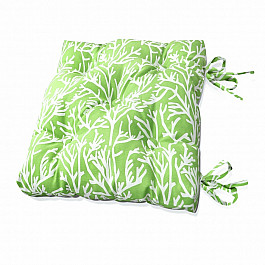 Подушка для сидения Kauffort Подушка на стул Green Corals-S, дизайн 150 стул shenma chcl001 green