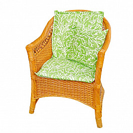 Подушка для сидения Kauffort Подушка на стул со спинкой Green Corals, дизайн 100 стул shenma chcl001 green