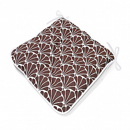 Подушка для сидения Kauffort Подушка на стул  Brown Garden, дизайн 140 стул aylso brown leather