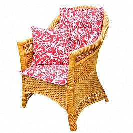 цена Подушка для сидения Kauffort Подушка на стул со спинкой
