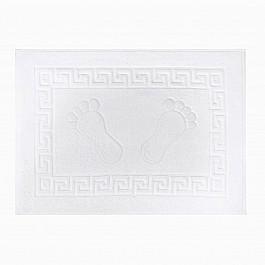 Коврик для ванной Arya Коврик для ванной Arya Otel, белый, 50*70 см коврик для ванной white fox relax волна цвет синий 50 х 70 см