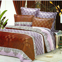 цена Постельное белье СайлиД Комплект постельного белья B-65-p (1.5 спальный) онлайн в 2017 году