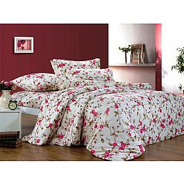 Постельное белье СайлиД Комплект постельного белья A-107-p (1.5 спальный) комплект постельного белья полутороспальный сайлид a голубой с рисунком