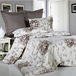 цена Постельное белье СайлиД Комплект постельного белья B-125-p (1.5 спальный) онлайн в 2017 году