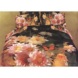 цена Постельное белье Famille Комплект постельного белья RS-80-e2 (Евро, 2 наволочки) онлайн в 2017 году