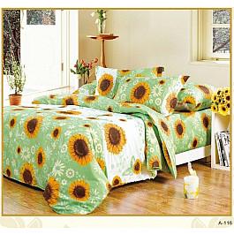 Постельное белье СайлиД Комплект постельного белья A-116-e (Евро) комплект постельного белья полутороспальный сайлид a голубой с рисунком