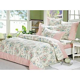 цена Постельное белье СайлиД Комплект постельного белья A-158-s (Семейный) онлайн в 2017 году