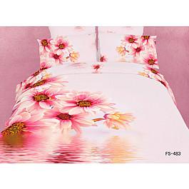 Постельное белье Famille Комплект постельного белья RS-88-e4 (Евро, 4 наволочки) asabella комплект постельного белья asabella евро 4 предмета белоснежный кружево eaibxtl