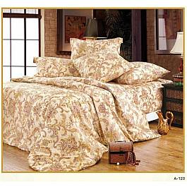 цена Постельное белье СайлиД Комплект постельного белья A-120-p (1.5 спальный) онлайн в 2017 году