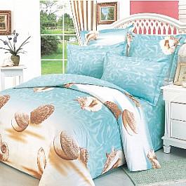 цена Постельное белье СайлиД Комплект постельного белья B-15-s (Семейный) онлайн в 2017 году