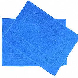 Коврик для ванной синий, 50х70 см