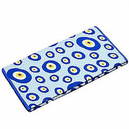 Чехол на гладильную доску с антипригарным покрытием, круги, 55*140 см