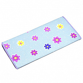 Чехол на гладильную доску с антипригарным покрытием, цветы, 46*140 см