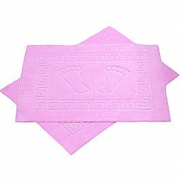 Коврик для ванной розовый, 50х70 см