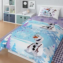 Постельное белье Disney КПБ Disney Olaf winter (1.5 спальный) все цены