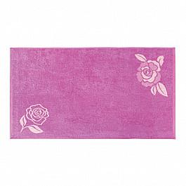 Полотенца Нордтекс Полотенце Aquarelle Розы-1, нежно-розовый, орхидея, 70*140 см полотенце махровое aquarelle лето цвет орхидея 70 x 140 см