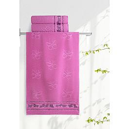 Полотенца Нордтекс Полотенце Aquarelle Бабочки, орхидея, 35*70 см полотенца нордтекс полотенце aquarelle бабочки ваниль 35 70 см