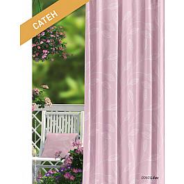 Шторы для комнаты Волшебная ночь Шторы Прованс Сатен Lilac, розовый