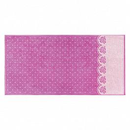 Полотенца Нордтекс Полотенце Aquarelle Розы-3, нежно-розовый, орхидея, 70*140 см полотенце махровое aquarelle лето цвет орхидея 70 x 140 см