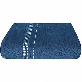 Полотенца Нордтекс Полотенце Aquarelle Лето, темно-синий, 70*140 см полотенца valentini полотенце earleen цвет темно синий набор