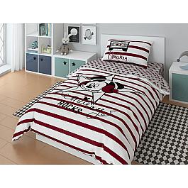 Постельное белье Disney КПБ Mickey star с наволочкой 50*70 (1.5 спальный)