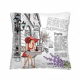 Декоративная подушка КАФЕ В ПАРИЖЕ