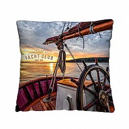 Фотоподушка Нордтекс Декоративная подушка ЯХТА сувенир яхта