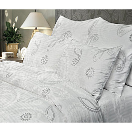 Постельное белье Verossa КПБ Verossa Stripe Constante Серебряный вальс (Евро), белый, серебряный huawei серебряный