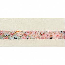 Полотенца Нордтекс Полотенце Aquarelle Фотобордюр цветы-4, ваниль, 70*140 см полотенца нордтекс полотенце aquarelle лотос ваниль 70 140 см