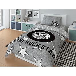 Постельное белье Disney КПБ Mickey Rock star с наволочкой 50*70 (1.5 спальный) disney 50 70 1153157