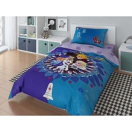 Постельное белье Disney КПБ Disney Olaf family с наволочкой 50*70 (1.5 спальный) disney 50 70 1153157