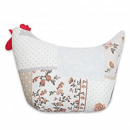 Декоративная подушка Нивасан Декоративная подушка Курочка-1, бежевый декоративная подушка нивасан подушка декоративная dp 45