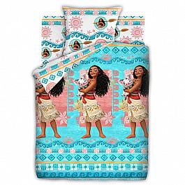 Постельное белье Непоседа - Disney КПБ 1,5 хлопок 'Моана' (70*70) рис. 8900+8901 вид 1 Моана и Пуа рюкзак детский моана