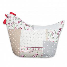 Декоративная подушка Нивасан Декоративная подушка Курочка-3, сиреневый декоративная подушка нивасан декоративная подушка прованс 1 сиреневый 30 50 см