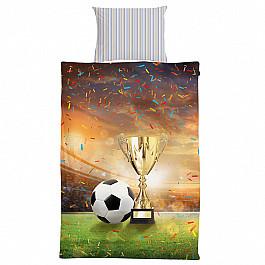 Постельное белье 4YOU КПБ 2.0 перкаль '4YOU' Football (70х70) рис. 16019-1 Champions cup (2 нав.) все цены