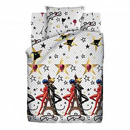 Постельное белье Непоседа КПБ 1.5 хлопок LadyBug (70х70) рис. 16095-1/16096-1 Париж the ladybug ring