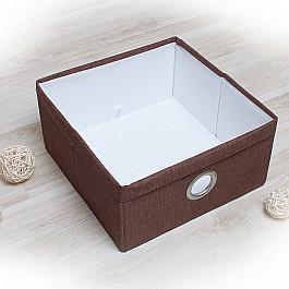 Кофры для хранения вещей Декоративная корзинка Фальсо-6, средняя, коричневый корзинка для хранения garden rattan