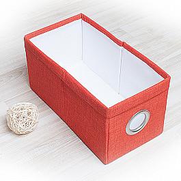 Кофры для хранения вещей Декоративная корзинка Фальсо-2, малая, оранжевый корзинка для хранения garden rattan