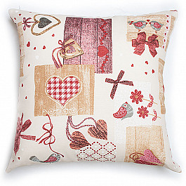 Декоративная подушка Нивасан Подушка декоративная Яна-1, бордовый декоративная подушка нивасан подушка декоративная dp 45