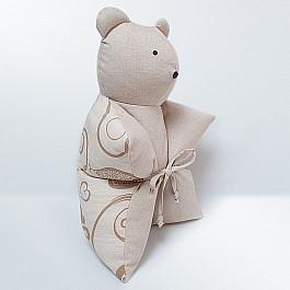 Декоративная подушка Нивасан Декоративная подушка Мишка, бежевый декоративная подушка нивасан декоративная подушка мишка оранжевый
