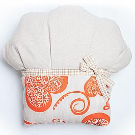 Декоративная подушка Нивасан Декоративная подушка Кекс-2, оранжевый декоративная подушка нивасан декоративная подушка мишка оранжевый