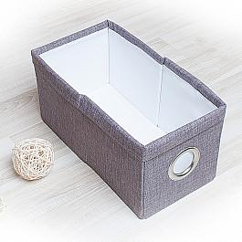 Кофры для хранения вещей Декоративная корзинка Фальсо-5, малая, серый корзинка для хранения garden rattan