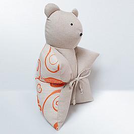 Декоративная подушка Нивасан Декоративная подушка Мишка, оранжевый декоративная подушка нивасан декоративная подушка мишка оранжевый